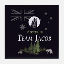 Team Jacob Australia AUS Tile Coaster