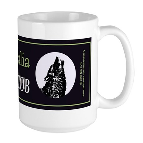 Team Jacob Australia AUS Large Mug