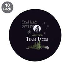 "Team Jacob Australia AUS 3.5"" Button (10 pack)"