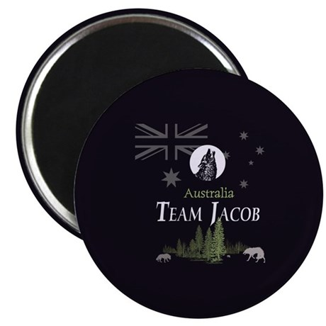 "Team Jacob Australia AUS 2.25"" Magnet (10 pack)"