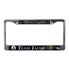 Team Jacob UK License Plate Frame