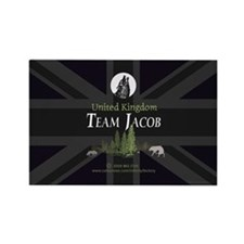 Team Jacob UK Rectangle Magnet (100 pack)