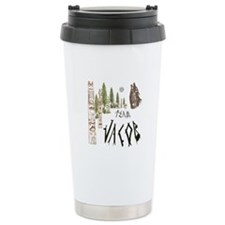 Team Jacob Native Travel Coffee Mug