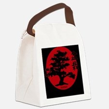 Cute East asia Canvas Lunch Bag