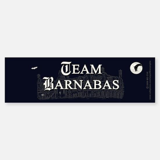 Team Barnabas B&W Sticker (Bumper)
