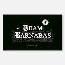 Team Barnabas B&W Decal