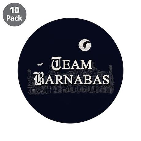 "Team Barnabas B&W 3.5"" Button (10 pack)"