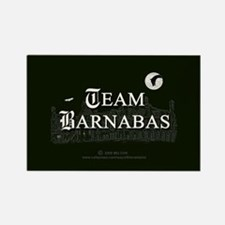 Team Barnabas B&W Rectangle Magnet