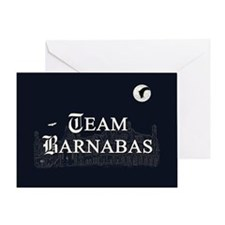 Team Barnabas B&W Greeting Card