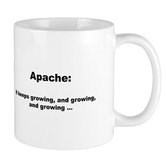 Apache Keeps Growing Mug