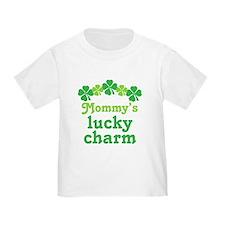 Irish Mommy's Lucky Charm T