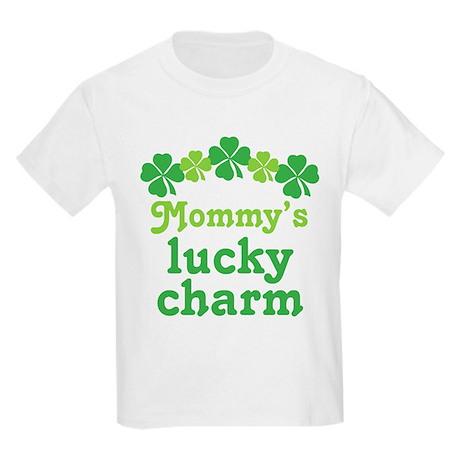 Irish Mommy's Lucky Charm Kids Light T-Shirt