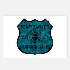 Team Sawyer - Dharma 1977 2 Postcards (Package of