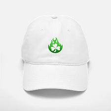 flame and shamrock4 Baseball Baseball Cap