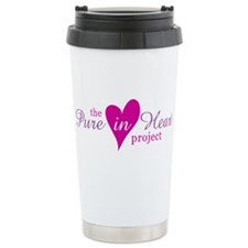 the Pure in Heart Project Travel Mug