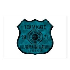 Team Kate - Dharma 1977 2 Postcards (Package of 8)