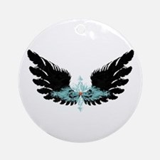 Michael's Wings Ornament (Round)