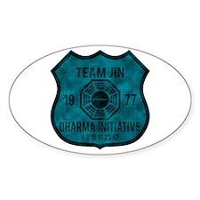 Team Jin - Dharma 1977 2 Bumper Stickers