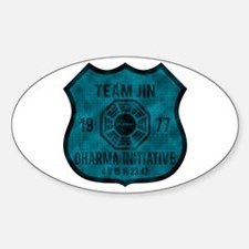 Team Jin - Dharma 1977 2 Bumper Stickers