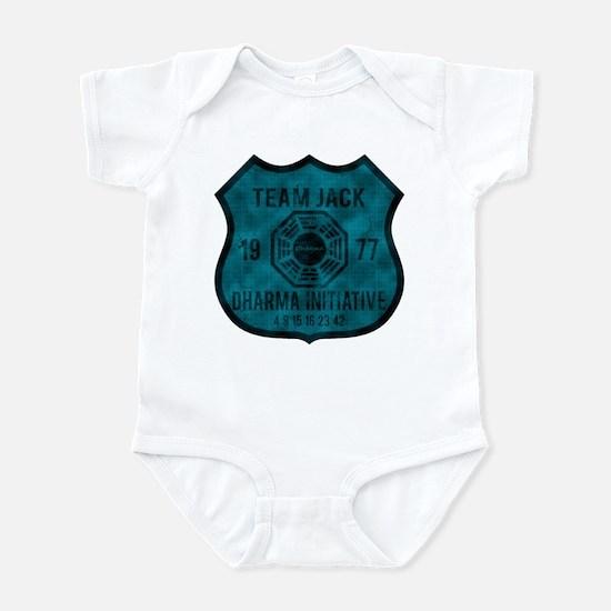 Team Jack - Dharma 1977 2 Infant Bodysuit