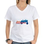 The Real Housewives of Farmville Women's V-Neck T-