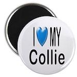 I Love My Collie Magnet