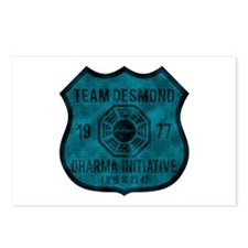 Team Desmond - Dharma 1977 2 Postcards (Package of