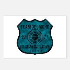 Team Desmond - Dharma 1977 2 Postcards (Package of