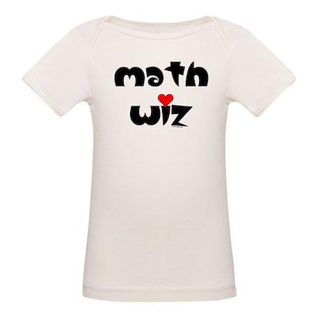 Math Wiz Organic Baby T-Shirt