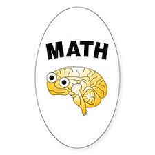 Math Brain Decal