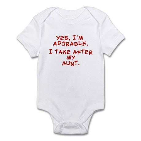 adorable like my aunt Infant Bodysuit