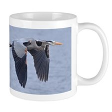 Heron flying Mug