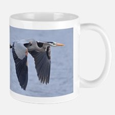 Heron flying Mug