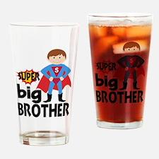 Big Brother Superhero Drinking Glass