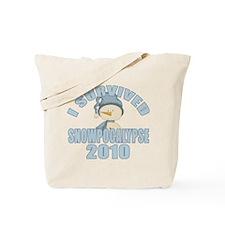 Snowpocalypse 2010 Tote Bag