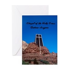 Chapel of the Holy Cross Greeting Card