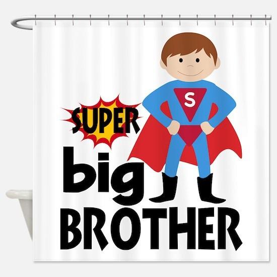 Big Brother Superhero Shower Curtain