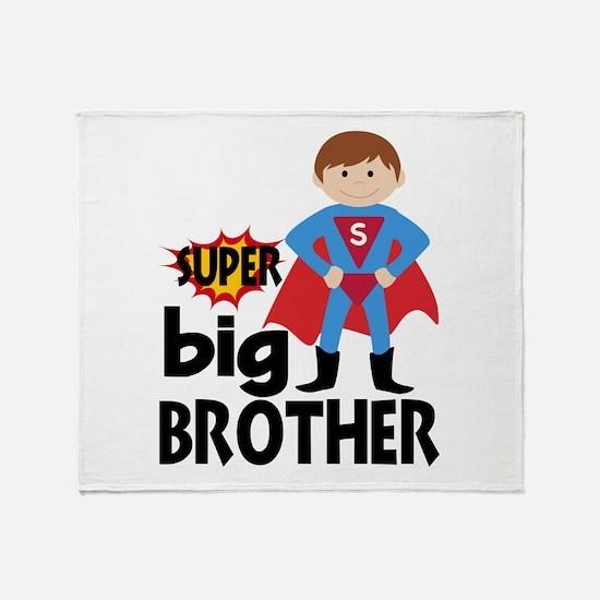Big Brother Superhero Throw Blanket