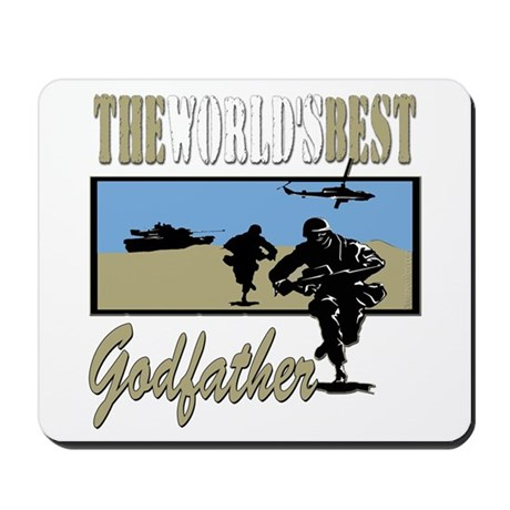 Military Godfather Mousepad