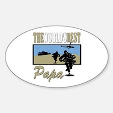 Military Papa Decal