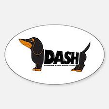 DASH Sticker (Oval)