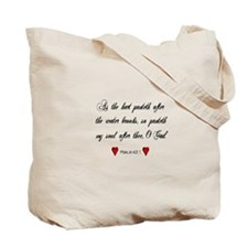 Psalm 42:1 Tote Bag