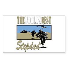 Military Stepdad Decal