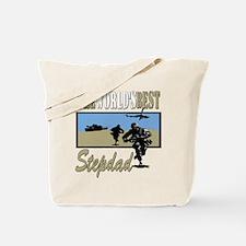 Military Stepdad Tote Bag
