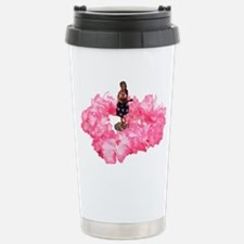 Hawaiian Dancer and Lei Travel Mug