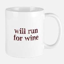 Will Run for Wine Mug