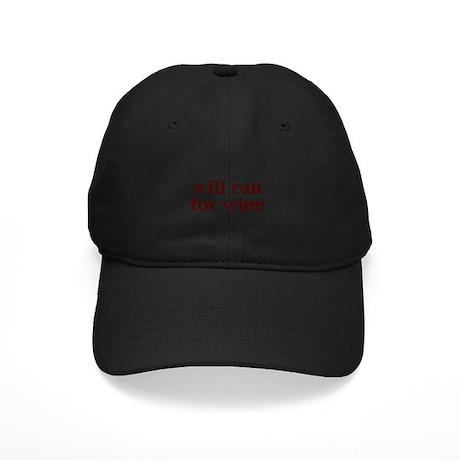 Will Run for Wine Black Cap