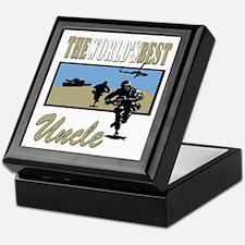 Military Uncle Keepsake Box