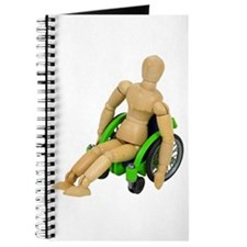 In a wheelchair Journal