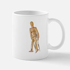 Using Crutches Mug